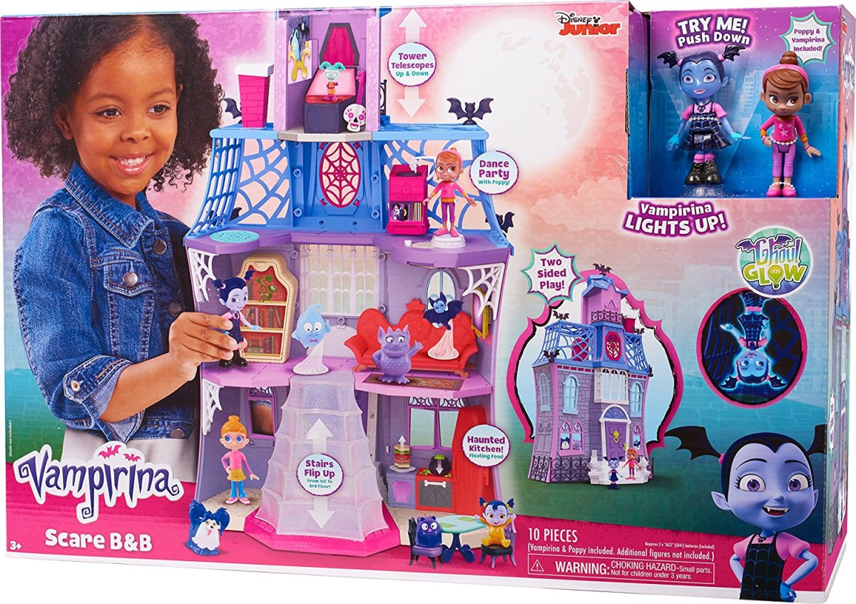 Disney Junior Vampirina Scare B Amp B Play House Easy Cake Walk