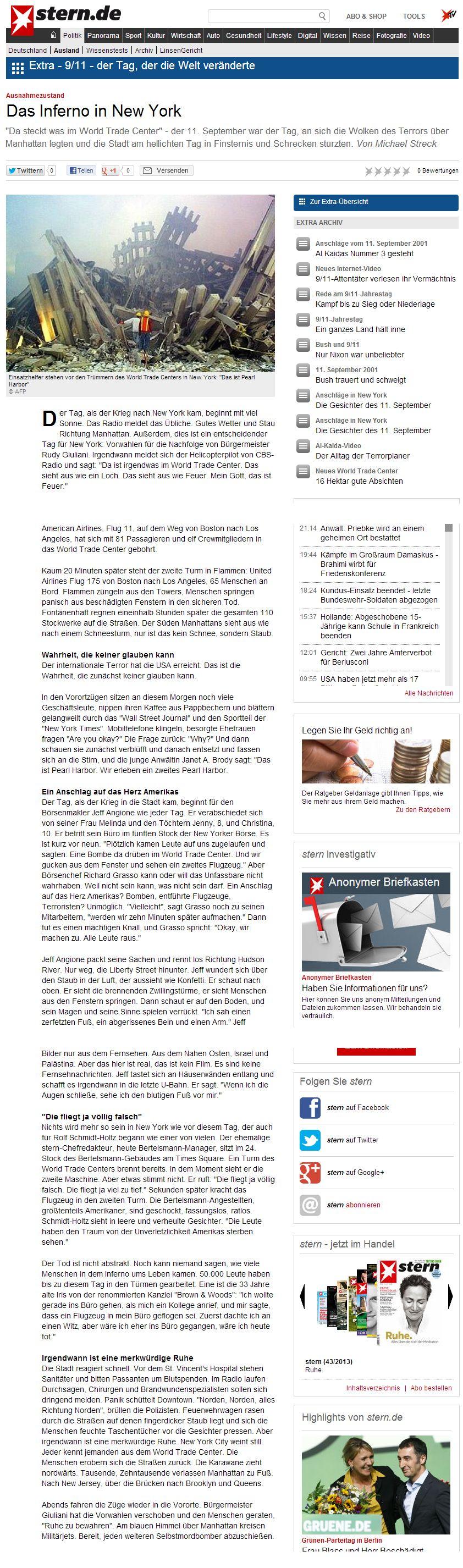 Die deutschen Geschichtenerzähler der STERN Redaktion