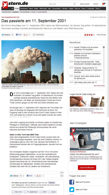DIE STERN REDAKTION - EIN HAUFEN WEICHEIER UND TERRORISTEN!