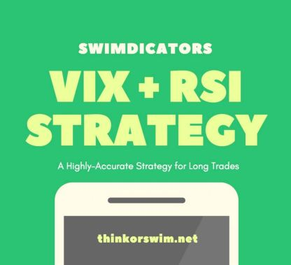 VIX RSI strategy for thinkorswim square