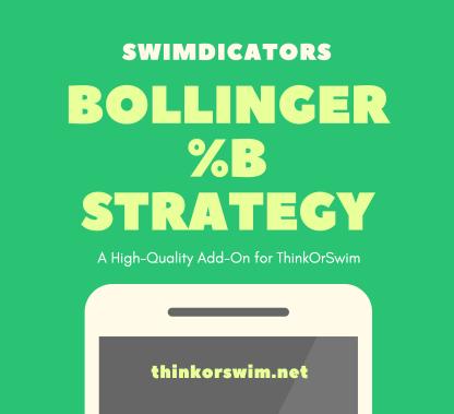 Bollinger Percent B %b Trading Strategy for ThinkOrSwim - cover