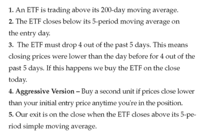 Multiple Day Up Down Trading Strategy for ThinkOrSwim - long rules