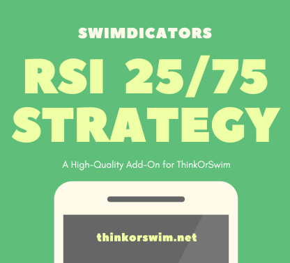 RSI 25-75 Trading Strategy for ThinkOrSwim - cover