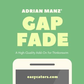 thinkorswim Adrian Manz gap fade mean reversion trading strategy