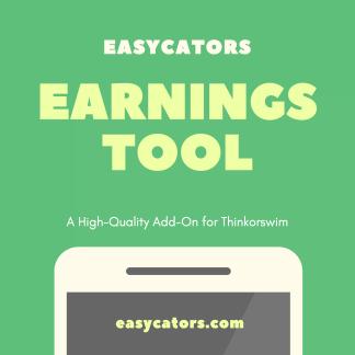 thinkorswim earnings tool and release calendar indicator