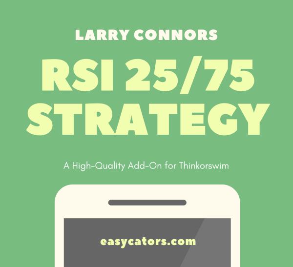 thinkorswim larry connors cumulative rsi 25:75 trading strategy