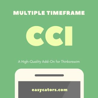 thinkorswim multiple timeframe CCI commodity channel index indicator