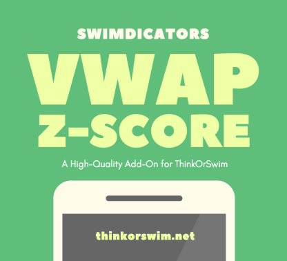Z Score Distance from VWAP for Thinkorswim