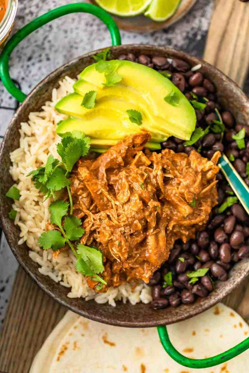 how to make chicken mole step by step
