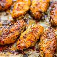 Garlic and Herb Baked Chicken Wings