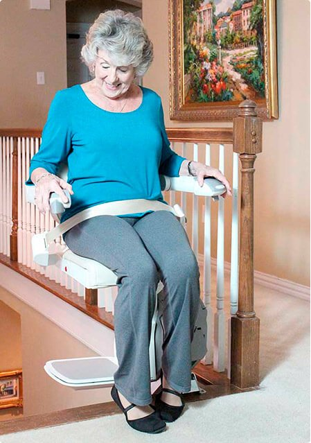 stair lift chair patio furniture table and chairs lifts residential for easy climber elderly woman image