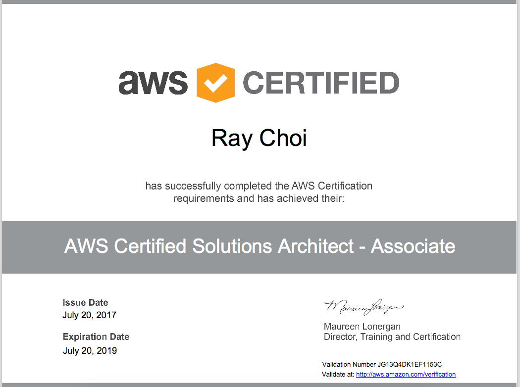 Aws Certification Validation Number Tutore