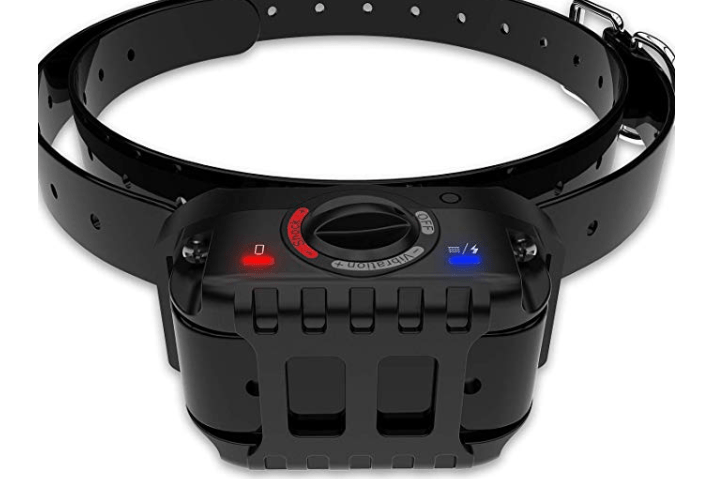 Amazon: PetFere Bark Collar,  Waterproof Rechargeable Dog bark Collar, Smart Detected Chip Small/Medium Dog-Black(15-50lbs) – $9