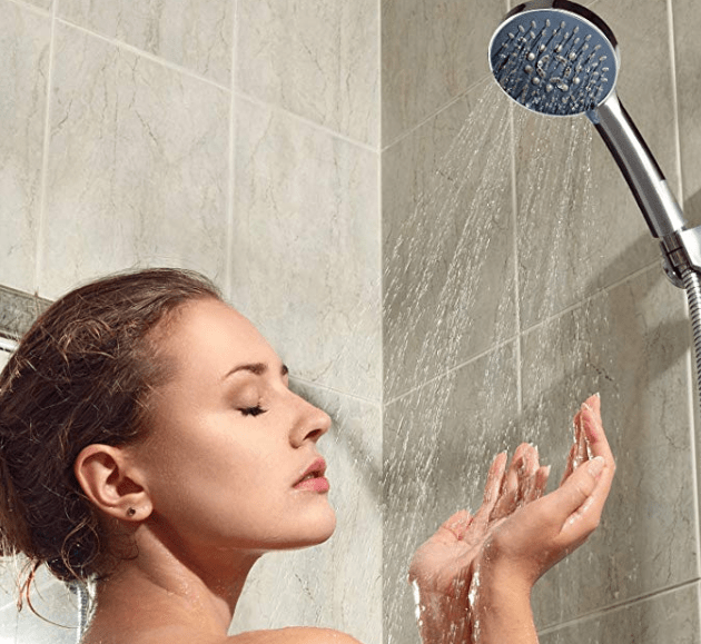 Amazon: Kealive Shower Head, Universal Fitting with 5 Adjustable Setting Modes – $3.99