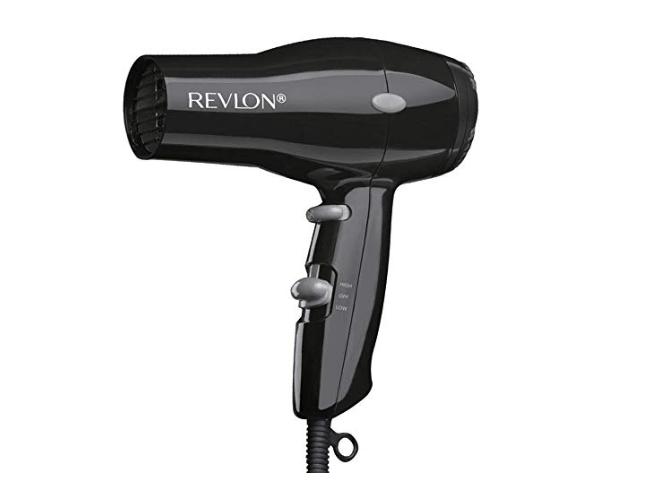 Amazon: Revlon 1875W Compact & Lightweight Hair Dryer, Black – $8.83