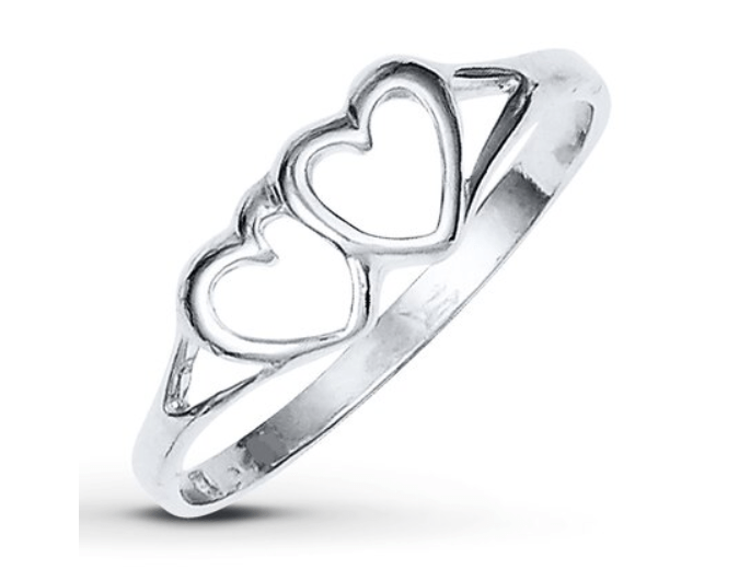 Jared: Heart Ring Sterling Silver – $7.19