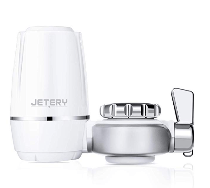 Amazon: JETERY Faucet Water Filter – $3.75