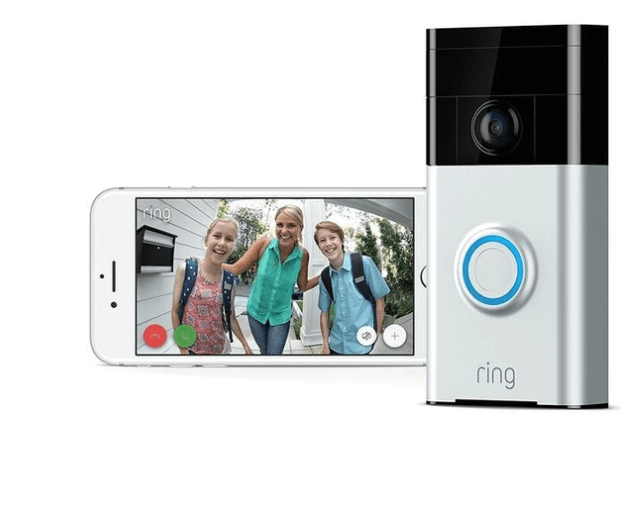 Itech: Ring Wi-Fi Enabled Video Doorbell Works with Alexa – $69