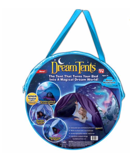 Walmart: Dream Tents Winter Wonderland, Kids Pop Up Play Tent – $4.88