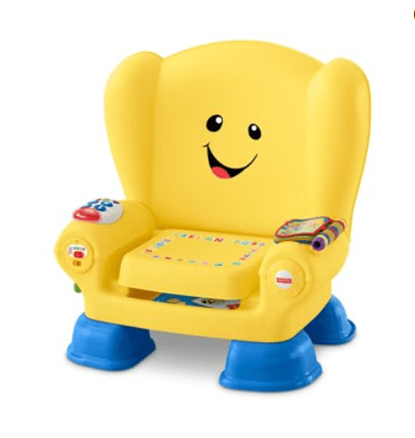 Walmart: Fisher-Price Laugh & Learn Smart Stages Chair, Yellow – $15