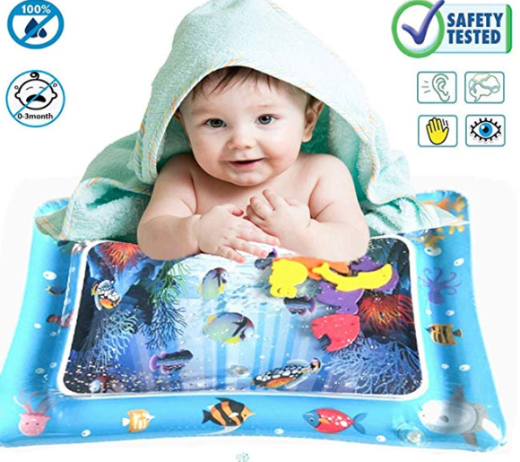 Amazon: ONG NAMO Inflatable Tummy Time Baby Water Play Mat – $5.99