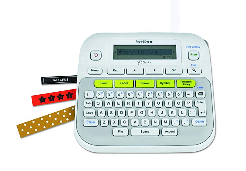 Amazon: Brother P-touch, PTD210, Easy-to-Use Label Maker – $9.99