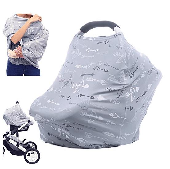 Amazon: Breastfeeding Nursing Cover Carseat Canopy – $4.97