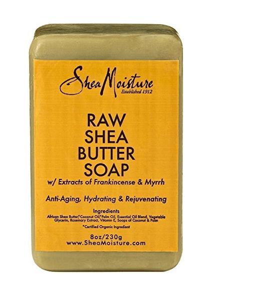 Amazon: Raw Shea Butter Bar Soap – $5.11 for 2