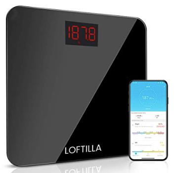 Amazon: Loftilla Bathroom Scale for Body Weight& BMI Scale – $10.84