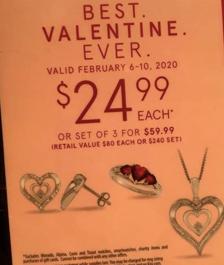 Kay Jewelers Valentine's Day Event