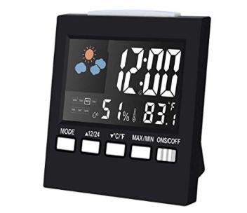 Amazon: Digital Alarm Clock – $5.20