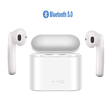 Amazon: Wireless Earbuds, Bluetooth 5.0 with Charging Case – $9.60