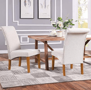 AMAZON: Romatpretty Set of 2 Dining Chair – $66.56