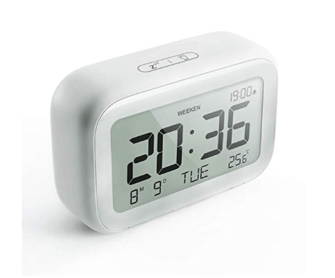 Amazon: HAPTIME Digital Alarm Clock with Modern Minimalist Style – $6.99