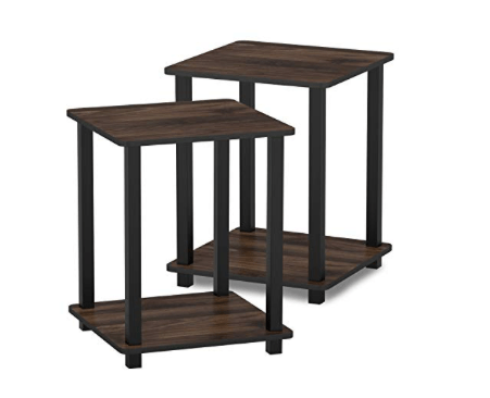 Amazon: (2) FURINNO Simplistic End Table – $19.82
