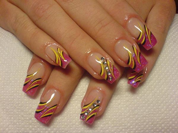 Lady Bug Nail Designs