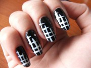 cute and easy nail art design