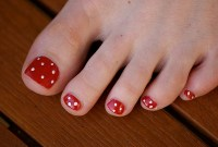 Simple Nail Art Designs Feet
