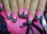 easy pink nail design - easyday