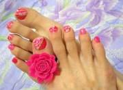 easy pink nail design - easyday