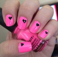 21 Easy Pink Nail Designs - Easyday