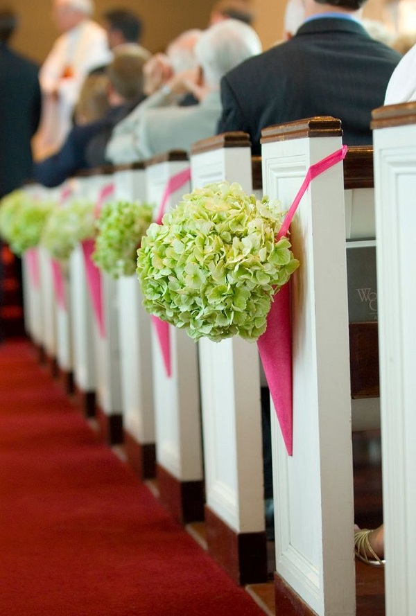 Church Decorations Burgandy Calla Lily And Rose Pew Bow Pictures Of Wedding