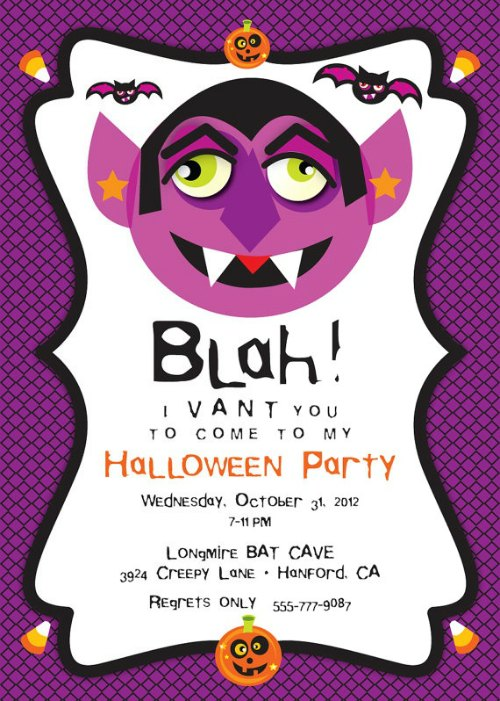 Halloween Party Invitation Ideas Easyday