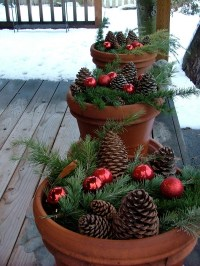 25 Top outdoor Christmas decorations on Pinterest