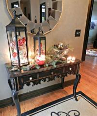 living-room-christmas-lanterns - Easyday