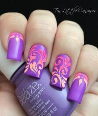 Trendy Purple Nail Art Designs - Easyday