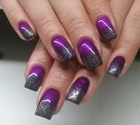 silver-and-purple-nail-designs - Easyday