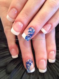 Top Blue Nail Art Designs To Suit Your Blue Costumes - Easyday