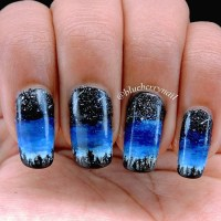 Black And Blue Nail Art | www.pixshark.com - Images ...