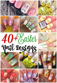 40+ Insanely Cute Easter Nail Designs For Your Inspiration ...